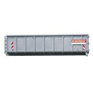 12m3 åben maxi-container