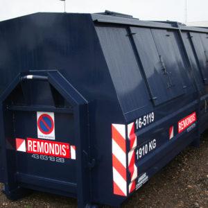 16m3 lukket maxi-container