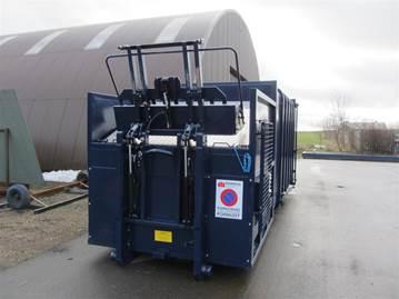 MK5 20m3 komprimator m. lift (1000kg)