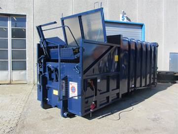 MK5 20m3 komprimator m. lift (400kg)