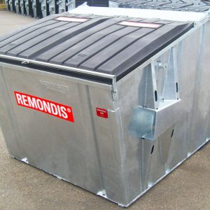 5m3 frontloader container