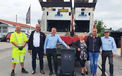 Opstart af den nye affaldsordning i Næstved 1. july 2021